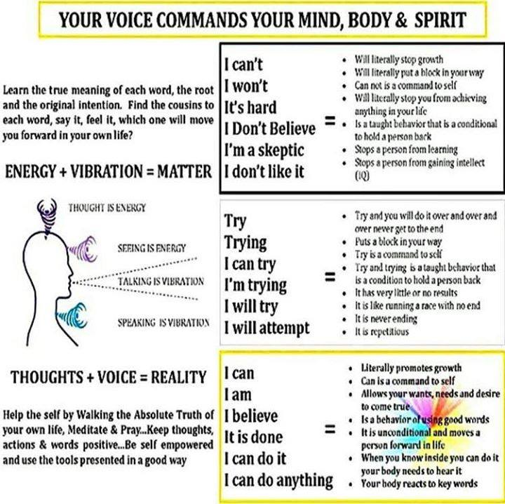 Your Voice Commands Your Mind, Body & Spirit - Blog Post #122