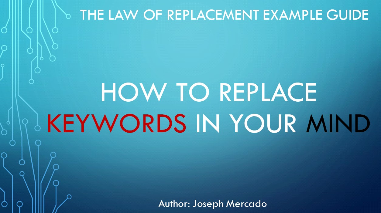 Law of Replacement Handbook