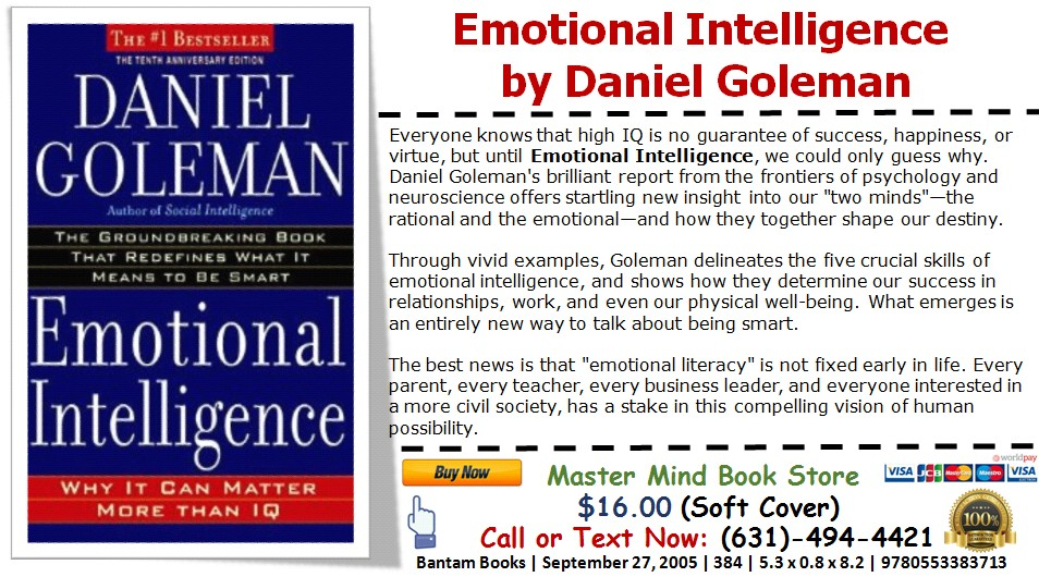 Emotional Intelligence Info Graphic Knowledge From The Department